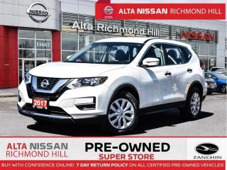 Used 2017 Nissan Rogue S   Back-UP   Heated Seats   Bluetooth   Cruise for sale in Richmond Hill, ON