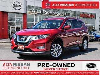 Used 2017 Nissan Rogue SV   Remote Start   Blind Spot   Fogs   Back-UP for sale in Richmond Hill, ON