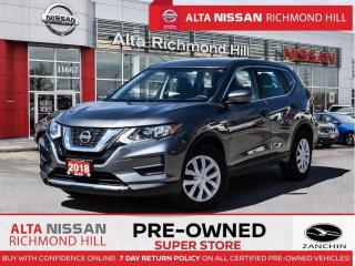 Used 2018 Nissan Rogue S   Apple Carply   Heated Seats   Blind Spot for sale in Richmond Hill, ON