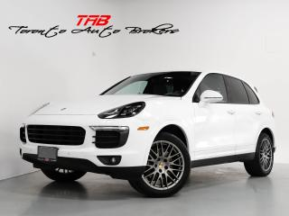 Used 2017 Porsche Cayenne I PLATINUM EDITION I PANO I NAVI I VENT. SEATS for sale in Vaughan, ON