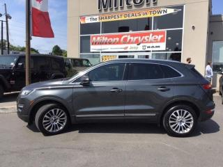 Used 2017 Lincoln MKC MKC AWD RESERVE|LEATHER|NAVIGATION|PANORAMIC SUNRO for sale in Milton, ON