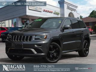 Used 2016 Jeep Grand Cherokee Overland | PANORAMIC ROOF for sale in Niagara Falls, ON