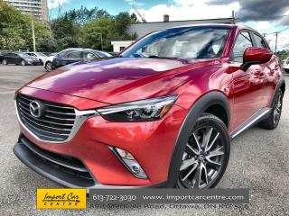 Used 2016 Mazda CX-3 GT LETAHER  ROOF  NAVI  BLIS  HTD SEATS  BACKUP CA for sale in Ottawa, ON