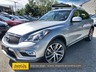 Used 2017 Infiniti QX50 PREMIUM + TECH  LEATHER  ROOF  NAVI  BLIS  BOSE for sale in Ottawa, ON