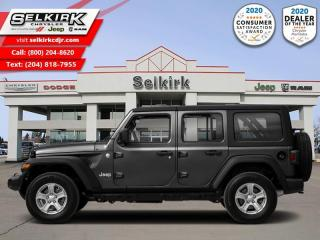 New 2021 Jeep Wrangler Rubicon Unlimited - Leather Seats for sale in Selkirk, MB