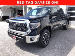 Used 2018 Toyota Tundra 4X4 CrewMax SR5 Plus 5.7L for sale in North Bay, ON