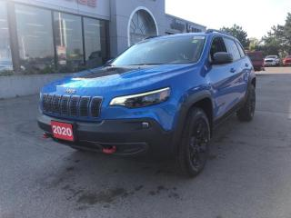 New 2020 Jeep Cherokee Trailhawk Elite 4x4 V6 for sale in Hamilton, ON