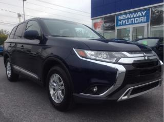 Used 2020 Mitsubishi Outlander ES S-AWC - Bluetooth - No Charge Winter Tires for sale in Cornwall, ON