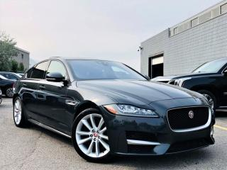 Used 2017 Jaguar XF 35t R-SPORT|AWD|SUNROOF|MEMORY SEATS|NAVI|PARKING SENSORS! for sale in Brampton, ON
