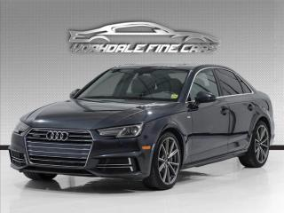 Used 2017 Audi A4 2.0 TFSI  S Line, Navi, Camera, Top Of The Line for sale in Concord, ON