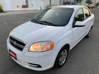 Used 2011 Chevrolet Aveo 4dr Sdn LT for sale in Mississauga, ON