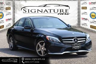 Used 2017 Mercedes-Benz C-Class C300 4MATIC. AMG PKG. SPORTS PKG. NO ACCIDENT. NAVI. for sale in Mississauga, ON