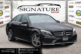 Used 2016 Mercedes-Benz C-Class C300 4MATIC. AMG PKG. SPORTS PKG. NO ACCIDENT. NAVI. for sale in Mississauga, ON