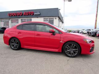 Used 2016 Subaru Impreza WRX WRX LIMITED 6 SPEED MANUAL NAVIGATION CAMERA CERTIFIED for sale in Milton, ON