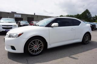 Used 2011 Scion tC 6SPD PREMIUM PKG CERTIFIED 2YR WARRANTY SUNROOF BLUETOOTH LEATHER CRUISE ALLOYS for sale in Milton, ON