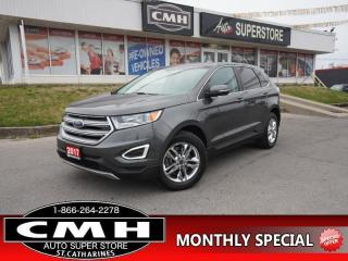 Used 2017 Ford Edge SEL  AWD NAV CAM PANO-ROOF P/SEATS HTD-SEATS for sale in St. Catharines, ON