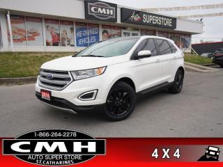 Used 2016 Ford Edge SEL  AWD LEATH NAV CAM PANO P/SEATS HTD-S/W for sale in St. Catharines, ON