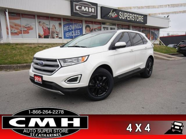 2016 Ford Edge SEL  AWD LEATH NAV CAM PANO P/SEATS HTD-S/W