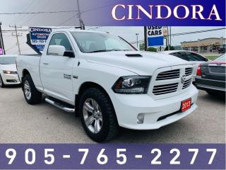 Used 2013 RAM 1500 Sport, 4x4, Reg Cab, 5.7 V8 for sale in Caledonia, ON