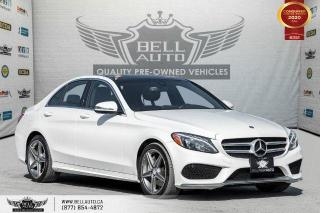 Used 2017 Mercedes-Benz C-Class AMG PKG, AWD, NO ACCIDENT, NAVI, REAR CAM, B.SPOT for sale in Toronto, ON