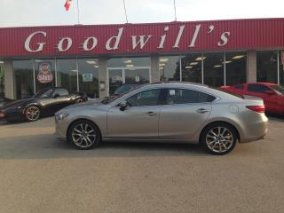 Used 2014 Mazda MAZDA6 GT! CLEAN CARFAX! HEATED LEATHER! NAV! SUNROOF! for sale in Aylmer, ON