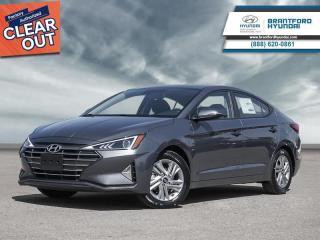 Used 2020 Hyundai Elantra Preferred w/Sun & Safety Package IVT  - $143 B/W for sale in Brantford, ON