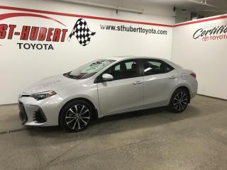 Used 2018 Toyota Corolla SE CVT, TOIT for sale in St-Hubert, QC