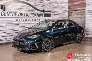 Used 2017 Toyota Corolla SE+MAGS+CAMERA DE RECUL+GR ELECTRIQUE+AIR CLIM for sale in Laval, QC