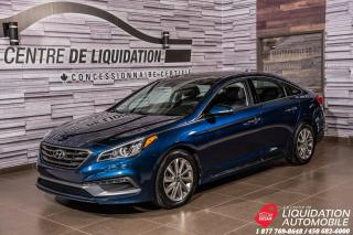 Used 2015 Hyundai Sonata SPORT TECH+GPS+TOIT+MAGS for sale in Laval, QC