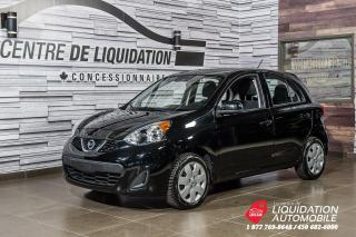 Used 2017 Nissan Micra S+GR ELECTRIQUE+AIR CLIM for sale in Laval, QC