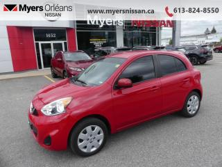 Used 2017 Nissan Micra S  - CD Player -  Aux Jack -  Cloth Seats - $76 B/W for sale in Orleans, ON