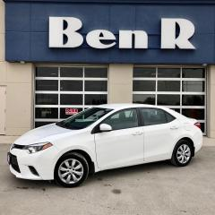 Used 2015 Toyota Corolla LE for sale in Steinbach, MB