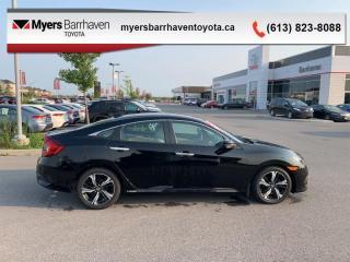 Used 2017 Honda Civic Sedan Touring  - Navigation -  Leather Seats - $128 B/W for sale in Ottawa, ON