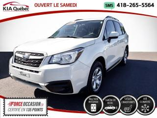 Used 2018 Subaru Forester **2.5i** AWD * CAMERA * SIEGES CHAUFFANT for sale in Québec, QC