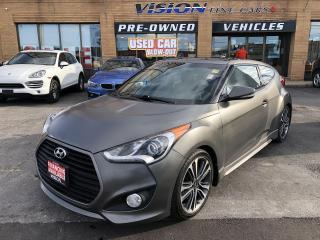 Used 2016 Hyundai Veloster 3dr Cpe Man Turbo w-Blue Colour Pack for sale in North York, ON
