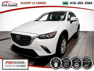 Used 2019 Mazda CX-3 **GS** AWD * CAMERA * SIEGES CHAUFFANTS* for sale in Québec, QC