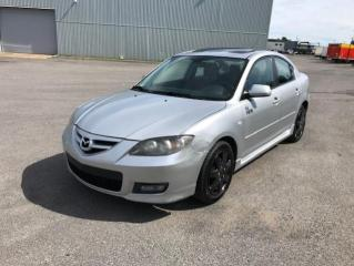 Used 2007 Mazda MAZDA3 Berline 4 portes, boîte manuelle, GT for sale in Québec, QC
