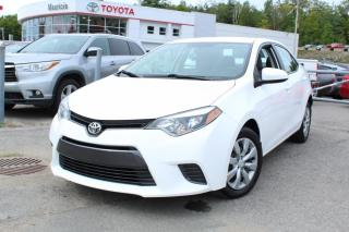 Used 2016 Toyota Corolla LE berline 4 portes CVT for sale in Shawinigan, QC