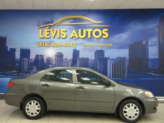 Used 2006 Toyota Corolla CE MANUEL 5 VITESSES AIR CLIMATISE 234 0 for sale in Lévis, QC