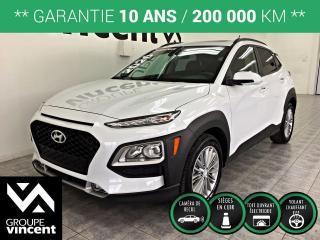 Used 2020 Hyundai KONA LUXURY AWD ** GARANTIE 10 ANS ** Obtenez l'agilité d'une voiture tout en profitant de la position de conduite plus élevée d'un VUS. for sale in Shawinigan, QC