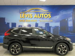 Used 2017 Honda CR-V TOURING AWD CUIR TOIT PANO GPS SEULEMENT for sale in Lévis, QC