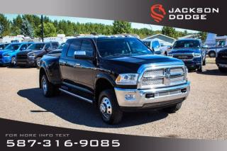 Used 2014 RAM 3500 Laramie - Mega Cab, Dually for sale in Medicine Hat, AB