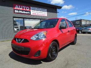 Used 2015 Nissan Micra S for sale in St-Hubert, QC