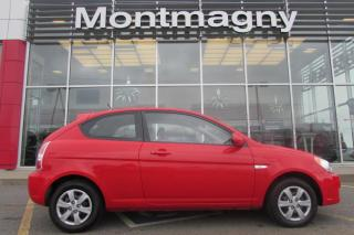 Used 2009 Hyundai Accent Hayon 3 portes, boîte manuelle, L for sale in Montmagny, QC