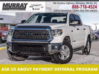 Used 2018 Toyota Tundra 4X4 CrewMax SR5 Plus 5.7L for sale in Winnipeg, MB