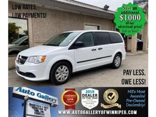 Used 2016 Dodge Grand Caravan CANADA VALUE PACKAGE for sale in Winnipeg, MB