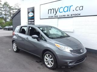 Used 2016 Nissan Versa Note 1.6 SL NAV, HEATED SEATS, ALLOYS, BACKUP CAM!! for sale in Richmond, ON