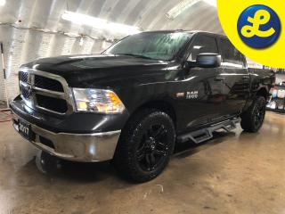 Used 2017 RAM 1500 SXT Crew Cab 4X4 Hemi * 3.92 rear axle ratio * 6 Passenger * Hemi * 20 Inch FUEL blacked out Alloy Rims * Blacked out HDX Side Steps * Tow/Haul Mode * for sale in Cambridge, ON