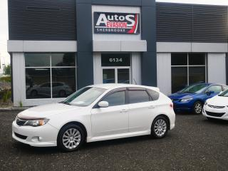 Used 2008 Subaru Impreza Vendu, sold merci for sale in Sherbrooke, QC