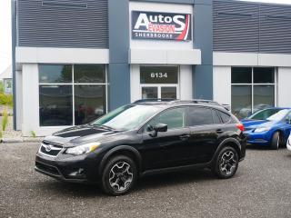 Used 2015 Subaru XV Crosstrek Sport-Tech Pkg + INSPECTÉ + EYESIGHT + TOIT for sale in Sherbrooke, QC